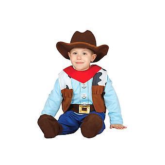 Pikkulapsille Baby Cowboy naamiaispuku puku