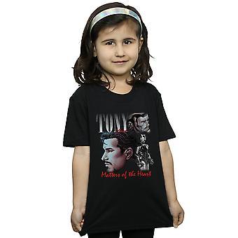 Marvel Mädchen Tony Stark Hommage T-Shirt