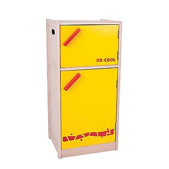 Santoys træ køleskab køkken rollespil tilbehør lære Play