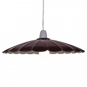Parasol Bourgogne plafond pendentif abat-jour - 34cm