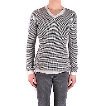Marc Jacobs Ezbc062049 Men's Grey Cotton Sweater