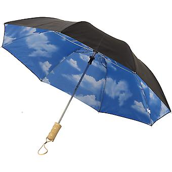 Avenue 21In Blue Skies 2-Section Automatic Umbrella