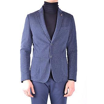 Massimo Rebecchi Ezbc214014 Men's Blue Cotton Blazer