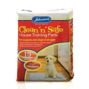 Johnsons clean N cassaforte Puppy House pad di addestramento