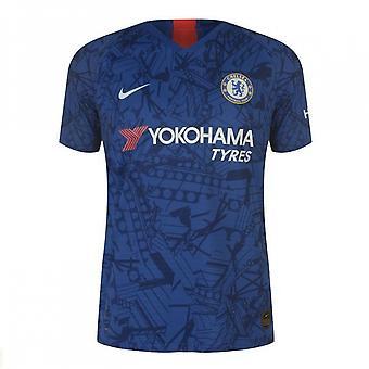 2019-2020 Chelsea Home Vapor match skjorte (børn)