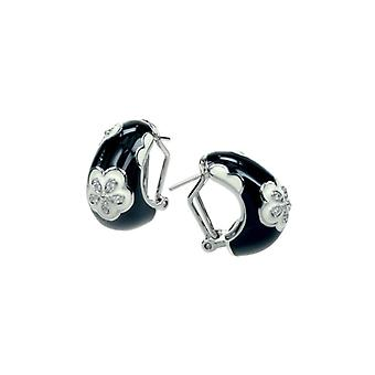 Belle Etoile Jasmine Black Earrings 3020810302