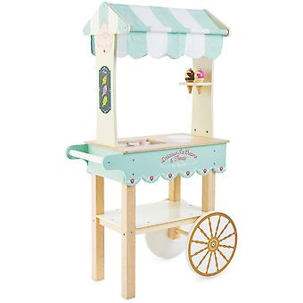 Le Toy Van Honeybake Play Ice Cream Trolley