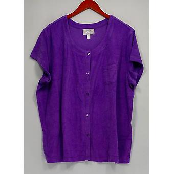 Carole Hochman Women's Petite Sleepshirt 2XP Daisy Purple A290142