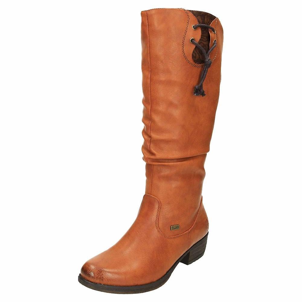 Rieker TEX Warm Lined Shower Proof Flat Boots 93161-24