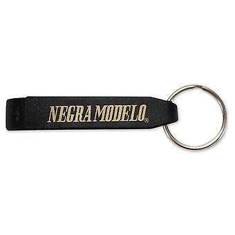 Negra Modelo schwarz Keychain Getränk Schraubenschlüssel