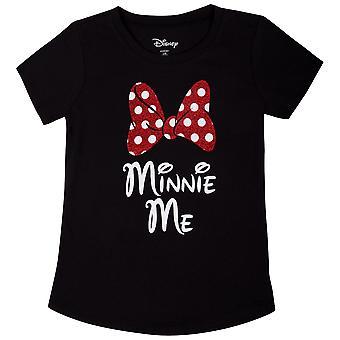 Minnie Mouse Minnie Me Youth Black Tee Shirt