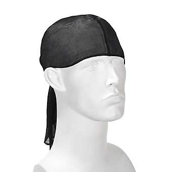 Durag head scarf - black