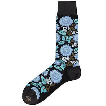 Effio Rose Floral Socks