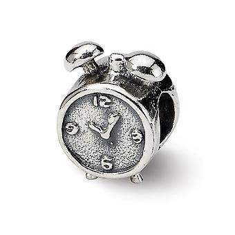 925 Sterling Silber Finish Reflexionen SimStars Wecker Perle Anhänger Anhänger Halskette Schmuck Geschenke für Frauen