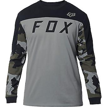 Fox Mens Grizzled Long Sleeve Knit Tee