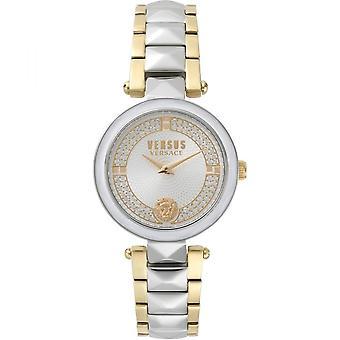 Versus Versace VSPCD2417 Women's Two Tone Covent Garden Wristwatch