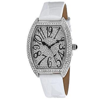 Christian Van Sant Mujeres's elegante reloj de marcación blanca - CV4821W