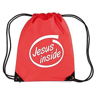 Zainetto rosso fun2199 jesus inside