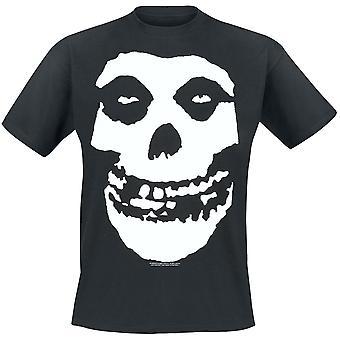 Misfits Unisex Adults Skull Design T-shirt