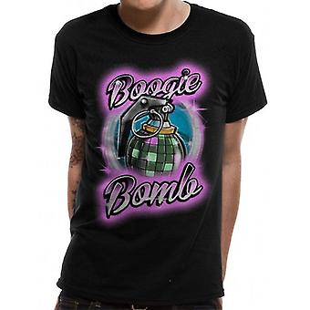Fortnite Unisex Adults Boogie Bomb Airbrush T-Shirt