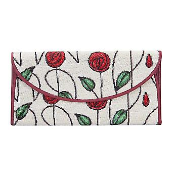 Mackintosh - simple rose money purse by signare tapestry / enve-rmsp