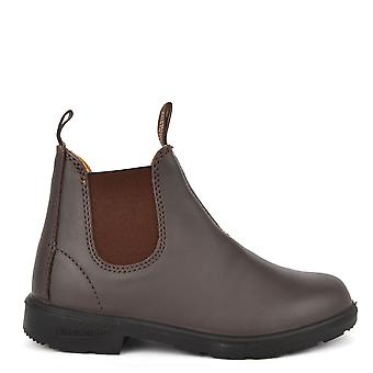 Blundstone Kids' 530 Premium Brown Leather Boot