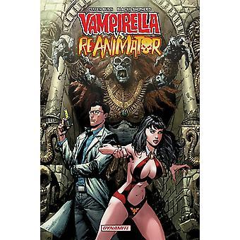 Vampirella vs. Reanimator TP by Cullen Bunn