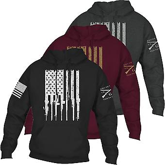 Grunt Style Rifle Flag 2.0 Pullover Hoodie