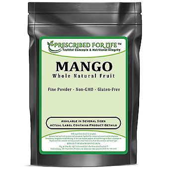 Mango-koko naisesta hedelmä jauheesta