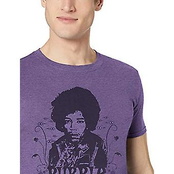 Amerikan Klasikleri Jimi Hendrix Mor Haze Yetişkin Erkek T-Shirt, Heather, Büyük