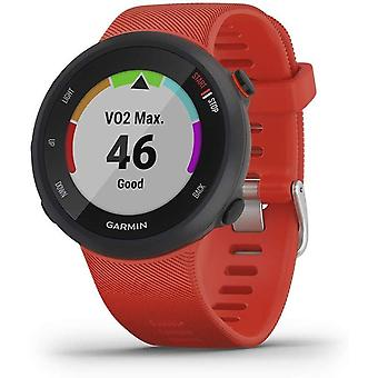 Garmin Forerunner 45 GPS Running Watch with Garmin Coach Training Plan Support - Lava Red, Large