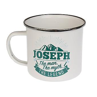 History & Heraldry Joseph Tin Mug 54