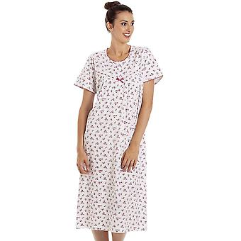 Camille WOMENS FLORAL S/S NIGHTDRESS