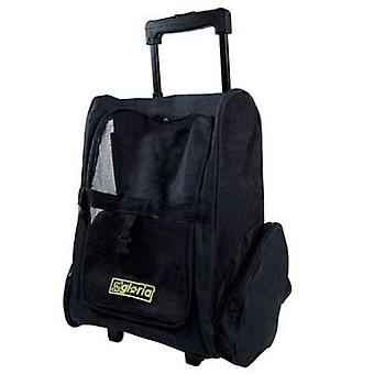 Gloria Pet Carrier 2-In-1 Backpack And Trolley With Wheels