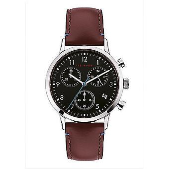 Ted Baker BKPCSF901 Men's Cosmop Chronograph Black Dial Wristwatch