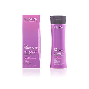 Revlon Professional Be Fabulous CREAM Keratin Conditioner 250ml Damaged Hair