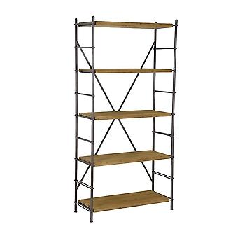 Light & Living Shelving Unit 5 Layers 100x42x200cm Lima Wood