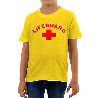 Reality glitch lifeguard kids t-shirt