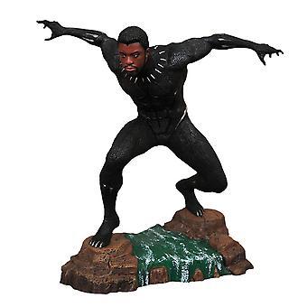 Musta pantteri musta pantteri naamioimaton PVC diorama