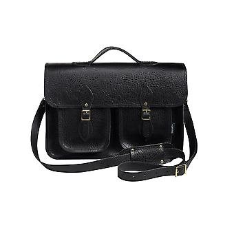 Zatchels Executive Handcrafted Leather Top Handle Satchel Bag (British Made)