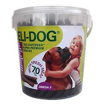 Deli-Dog Deli Dog Snacks in ox flavor (Dogs , Treats , Sticks)