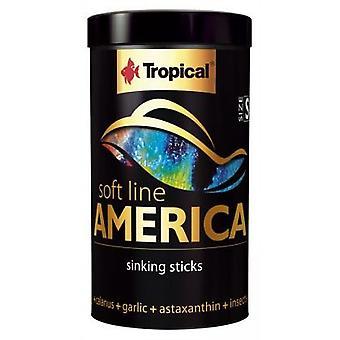 Tropical Soft Line America (Fisk, Mat, Varmt vatten)