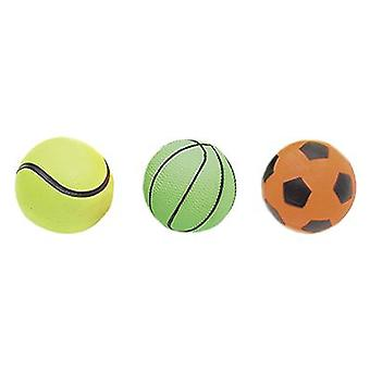 Karlie Flamingo 6 Cm Neon Ball Assortment Display box. (Dogs , Toys & Sport , Balls)