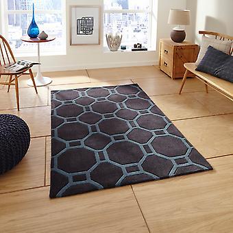 Hong Kong Hk 4338 blaue Teppiche In Kohle