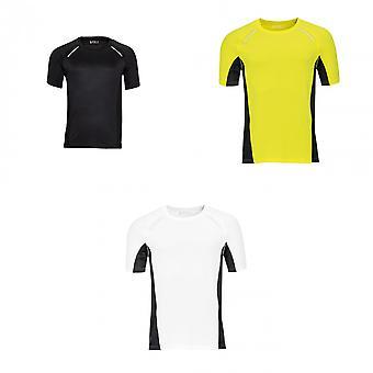 SOLS Mens Sydney Reflective Running T-Shirt