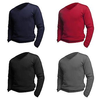 SOLS Mens Galaxy V Neck Pullover