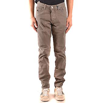 Jeckerson Ezbc069040 Men's Grey Cotton Jeans