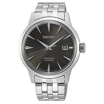 Seiko Uhren Srpe17j1 Presage Grau & Silber Edelstahl Automatische Men's Uhr