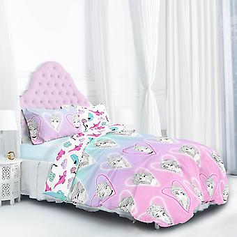 Conjunto de cama princesa Soneca Rainha - Duplo