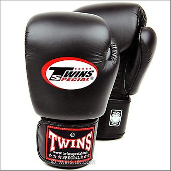 Twins special black muay thai boxing gloves